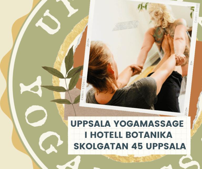 Uppsala Yogamassage Hotell Botanika